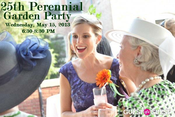 25th Perennial Garden Party @ Woodrow Wilson House  | Washington | District of Columbia | United States